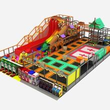 兒童樂園百萬球池戶外滑梯網紅橋