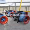 卧式安装雪橇式潜水轴流泵