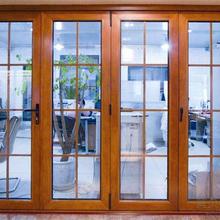 西寧鋁木復合門窗施工價格圖片