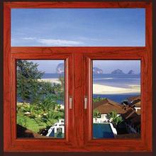 格尔�木铝木复合�门窗施工图片