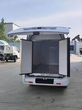 国六福田奥铃蔬菜运输肉类运输鲜奶运输医疗疫苗运输冷藏车