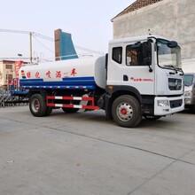 天津东风福8方洒水车价格图片