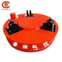 供应废钢电磁吸盘强力圆形起重电磁铁定制强力废钢起重电磁吸盘图片