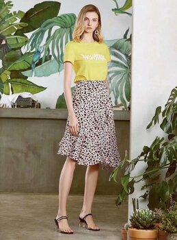 凱撒貝雷2021夏真絲大碼中國風刺繡女裝品牌折扣庫存女裝廠家
