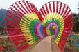 梧州浪漫風車展風車節風車長廊木質荷蘭風車