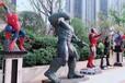 展覽展會復仇者聯盟模型展鋼鐵俠蜘蛛俠綠巨人