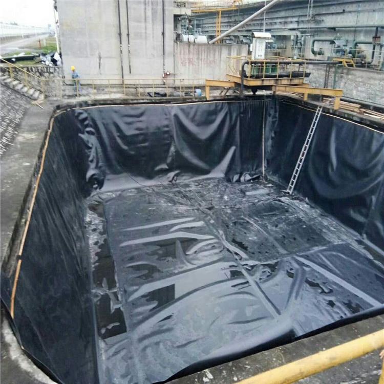hdpe防滲土工膜蓄水池防滲膜hdpe膜抗腐蝕廠家批發