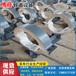 博迎管道DN500蛭石隔熱管托固定支墩滑動管托導向管托