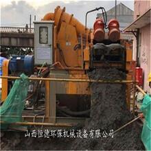 烏蘭察布河道清淤砂漿凈化裝置廠家價格圖片