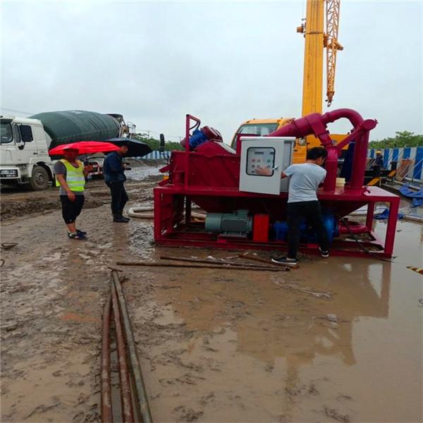 泥水平衡法盾構施工泥水脫水器廠家價格