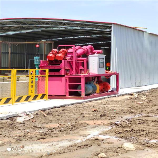 建筑管樁工程渣漿脫水裝置多少錢