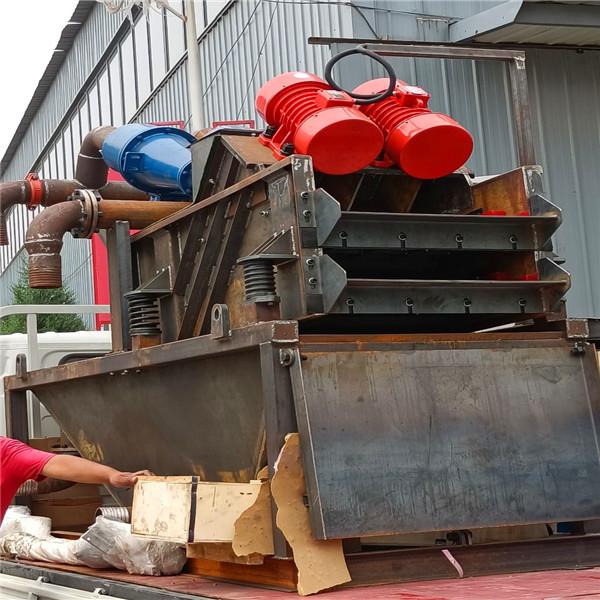 泥水平衡法盾构施工泥沙脱水设备多少钱一台