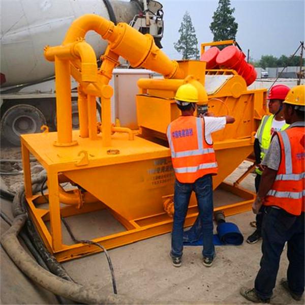 泥水平衡法盾构施工泥沙脱水设备安装方案