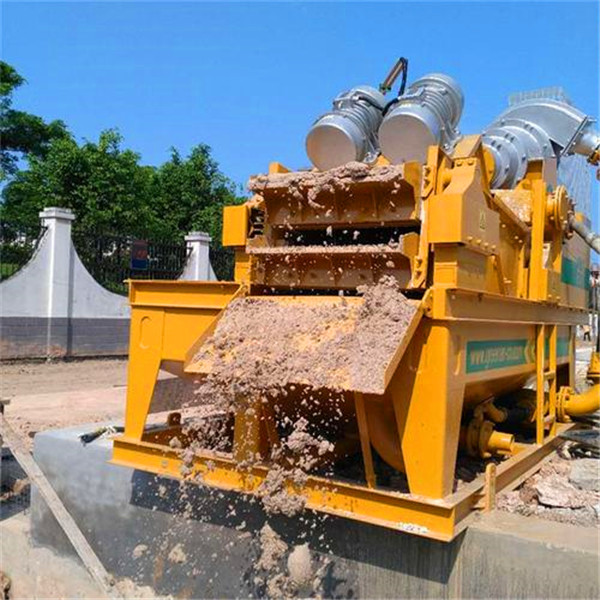 泥水平衡法盾构施工泥沙脱水装置厂家价格