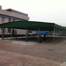 红河供应遮阳棚伸缩式雨棚规格齐全,活动仓库伸缩雨棚图片