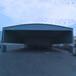 浙江定制倉庫活動雨棚伸縮移動推拉棚夜宵燒烤折疊帳篷停車遮陽蓬