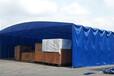 河北定制活動遮陽篷移動伸縮推拉雨棚排檔燒烤帳蓬物流停車棚