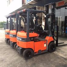 上海二手叉车市场现货供应二手丰田1.5吨电动叉车低价图片