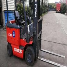 小型四轮电动叉车-国产合力1.5吨电动叉车低价出售图片