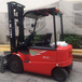 食品廠專用二手電動叉車3噸合力電瓶叉車促銷
