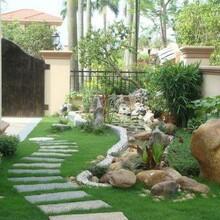 南陽別墅庭院規劃施工圖片