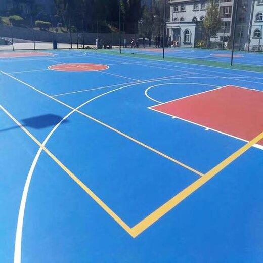 硅PU籃球場圖