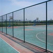 山东篮球场围网安装图片