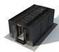 浙江杭州單列微模塊機柜,雙列冷通道封閉服務器柜機房生產廠家