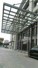 郴州钢结构雨棚安装图片