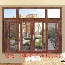 河源平开窗厂家108隔热断桥平开窗纱窗一体图片