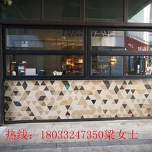 深圳铝合金折叠窗玻璃折叠窗防风防盗图片