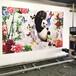 智能3d墻體彩繪機戶外廣告印刷宣傳圍墻5D打印機設備墻體噴繪機