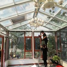 山西朔州晴雨建筑太原阳光房造价,遮阳棚图片