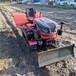 小型旱地旋耕机35马力座驾式履带旋耕机大棚开沟起垄机