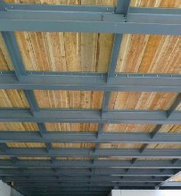 锡山区钢结构阁楼隔层施工工程图片