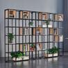 郑州置物架简易客厅办公室铁艺收纳书柜多层货