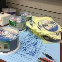 刻錄標書光盤,法律取證光盤,工程進度光盤,藍光光盤圖片