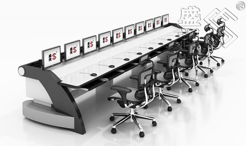贵阳市人民检察院可视化指挥中心集控台指挥中心操作席