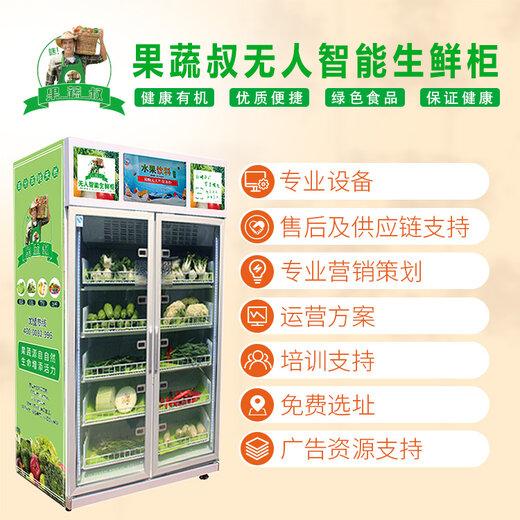 崇左生鮮柜-果蔬自動售貨機,無人果蔬保鮮售貨機