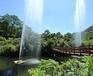 濰坊新品吶喊噴泉由多個加氣噴頭組合山東三喜