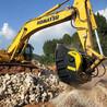 坚固耐用大型矿山设备石料破碎斗破碎机碎石斗液压破碎斗