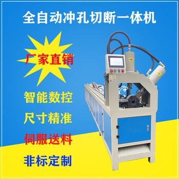 盈通角铁槽钢裁断机液压冲弧机液压冲孔机批发模具