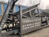 直線振篩大型振動篩沙機移動折疊式砂石分離直線震動篩沙機械設備