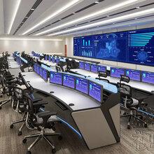 十二年生产监控控制台经验,智慧城市推荐监控操作台品牌图片