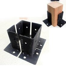 潍坊固定木方立柱的铁脚角码图片