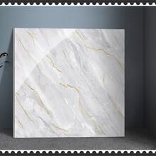 全拋釉瓷磚臥室客廳拋釉地板磚白色釉面地磚批發廠家圖片