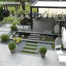 江夏區從事私人庭院設計圖片