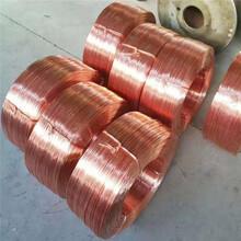 扁銅絲軟紅銅線裸紫銅線鍍鎳導電線廠家直銷圖片