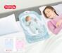 嬰兒便攜式分隔床帶燈光音樂多功能收納嬰兒床中床安撫床