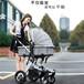 高景兒童推車觀可坐躺四季通用折疊四輪聯動避震雙向推行寶寶童車